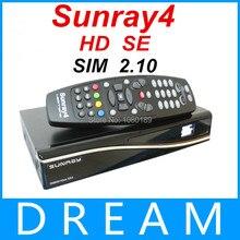 2 UNIDS libera la nave más nueva 800hdse Sunray4 800hd SR4 sintonizador Triple-t-c-s S (2 S) Triple sintonizador Receptor de Satélite SIM2.10 sunray4 HD sí