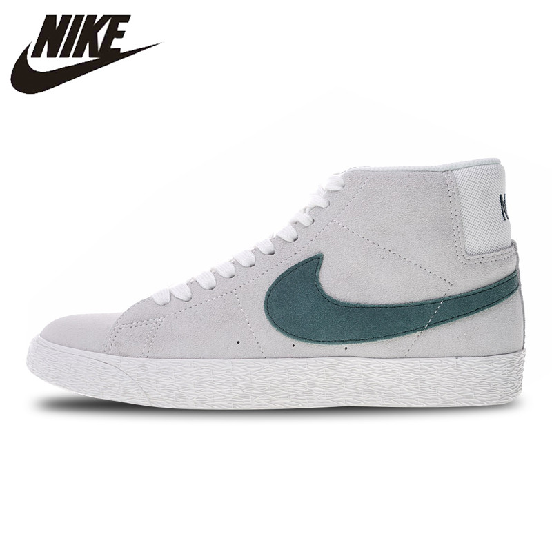 674d97d06323 Nike Zoom SB Blazer Mid Reigning Champ Skateboarding Shoes Sneakers Sports  for Women AH6416-117