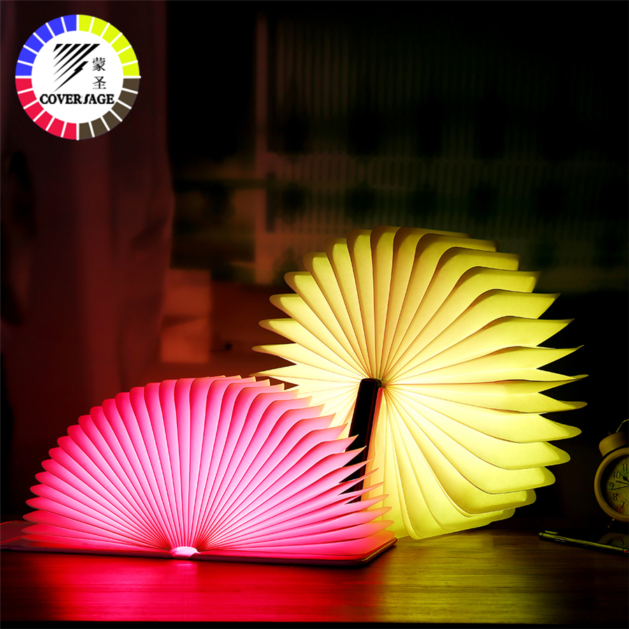 Coversage Led Night Light Luminaria 7 Colors Rechargeable Battery Decorative Table Bedroom Children Kids Baby Sleeping USB Lamp white rotating rechargeable led talbe lamp usb micro charging eye protection night light dimmerable bedsides luminaria de mesa