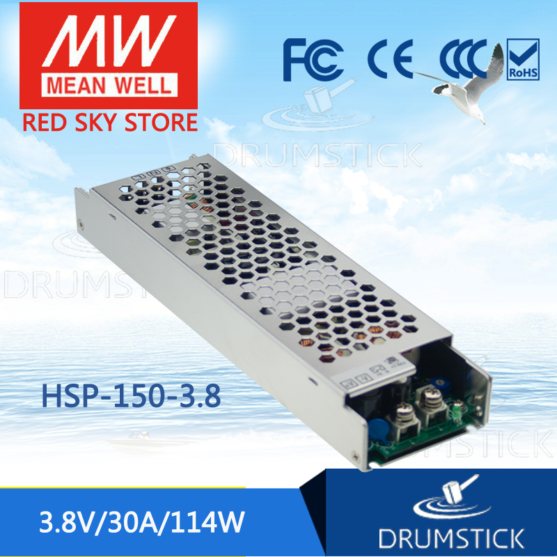 Фотография Advantages MEAN WELL HSP-150-3.8 3.8V 30A meanwell HSP-150 3.8V 114W Single Output with PFC Function Power Supply [Real6]