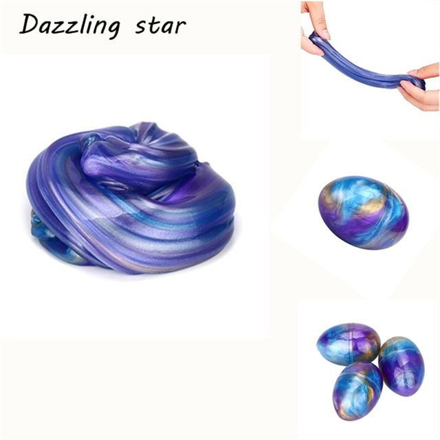 2019 New Arrival Funny 70g DIY Cotton Slime Clay 3D Fluffy Floam Slime Scented Stress Relief No Borax Education Craft Mud Toy