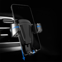 Car mobile gravity phone bracket 360 degree smart to Mobile holder For iphone6 xiaomi GPS Positioning