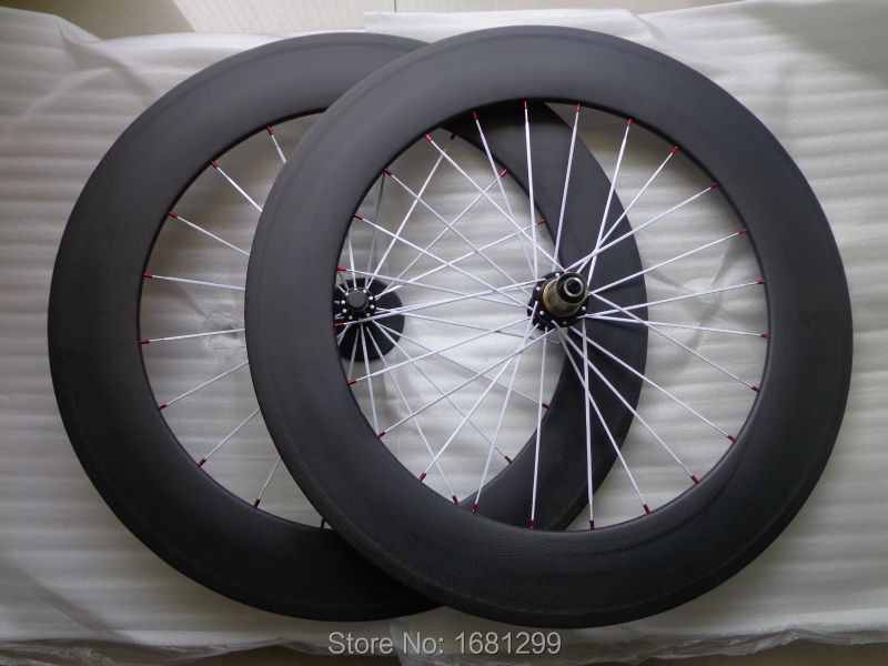 New 700C 88mm clincher rim Road bicycle matt 3K full carbon bike wheelsets with Powerway R13 hubs 20.5/ 23/ 25mm width Free shipNew 700C 88mm clincher rim Road bicycle matt 3K full carbon bike wheelsets with Powerway R13 hubs 20.5/ 23/ 25mm width Free ship