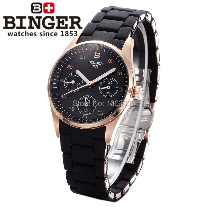 BINGER Top Luxury Brand Watch 11 Color Ladies Fashion Dress Watches Women Quartz Wristwatches Female Table relogio feminino women watches women top famous brand luxury casual quartz watch female ladies watches women wristwatches relogio feminino