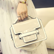 Messenger Bag 2016 New Hit Color Mini Tide hit the color package Small  Women Leather Crossbody Female Tide Diagonal Package
