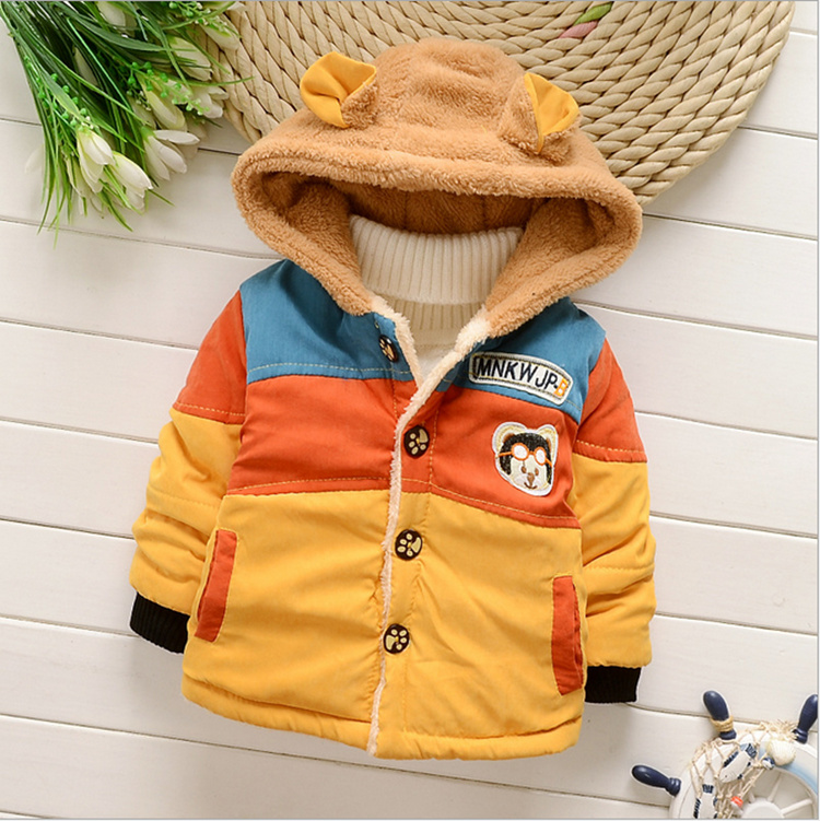 2015 New Baby Boy Clothes Winter Jacket Baby Snowsuits 12 18 Months