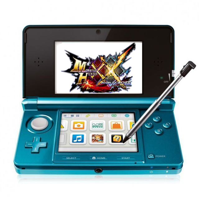 Handheld Game  Touch Screen LCD displays Cross Keypad System Console Bundle Charger & Stylus for Nintendo 3DSLL