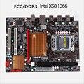 Новый 1366-pin X58 LGA 1366 материнская плата компьютера DDR3 поддержка ECC памяти сервера поддержка X5650X5675X5570