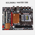 New X58 1366-pin LGA 1366 computer motherboard DDR3 ECC support server memory support X5650X5675X5570