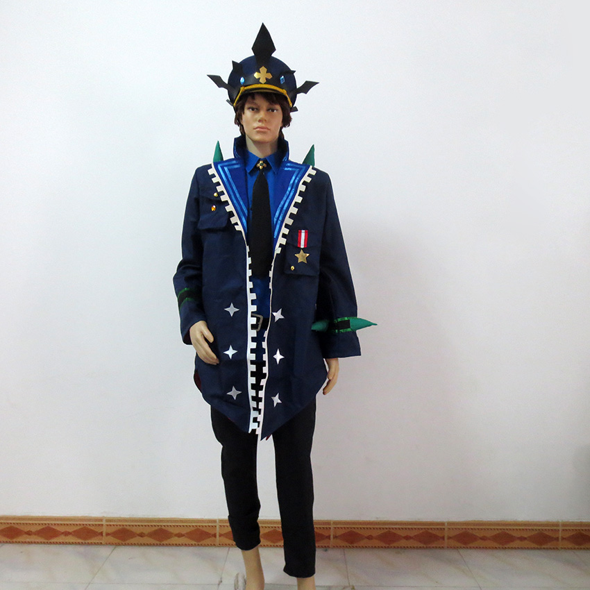 Elsword Lu Ciel Dreadlord Catastrophe Christmas Party Halloween Uniform Outfit Cosplay Costume Customize Any Size