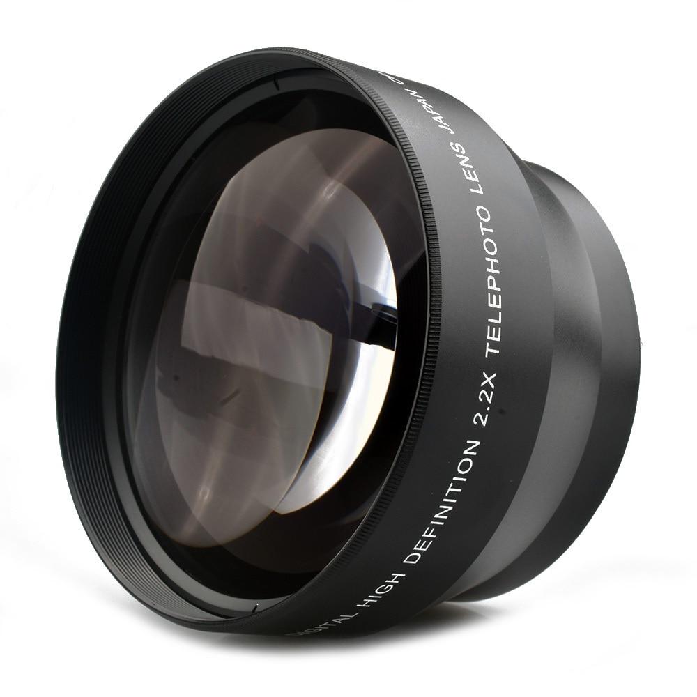 67MM 0.43X široki Angel & makro objektiv + 2.2X telefoto objektiv za - Kamera i foto - Foto 5
