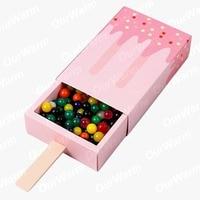 ourwarm 10 шт. угрюмый форма подарок коробки душа ребенка день рождения коробка конвертировать мультфильм ящик мешок подарков для детский праздничный костюм пользу коробка