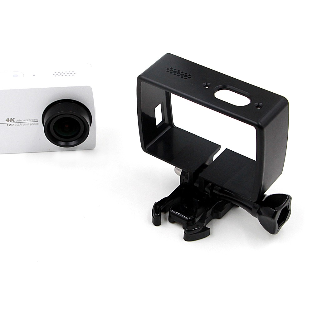 Xiao-Yi-4K-Accessories-Standard-Frame-Housing-Mount-Base-Screw-Protective-Hard-Case-Cover-for-Xiaomi (3)