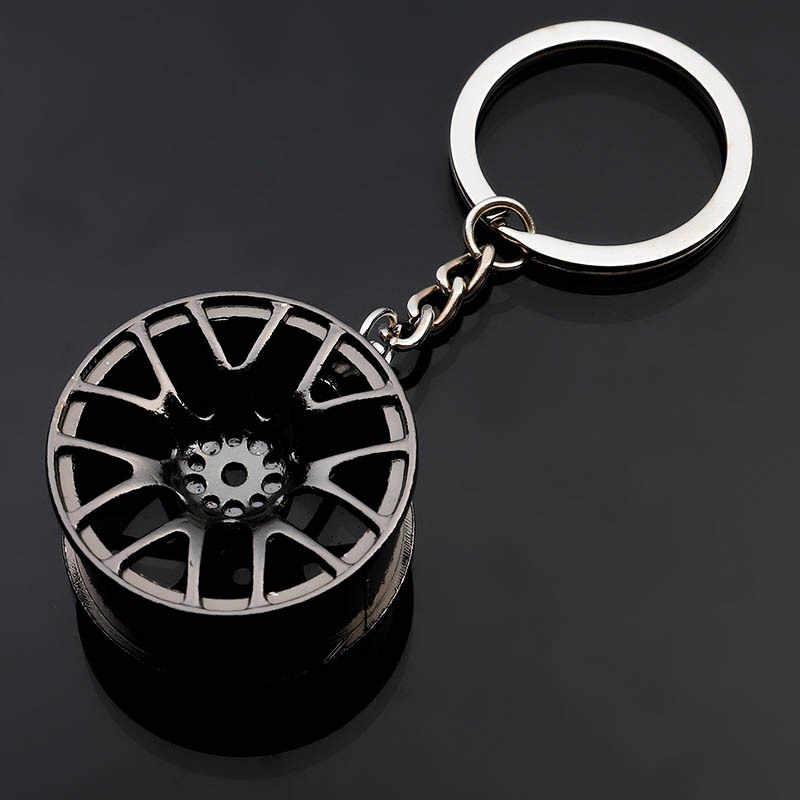 LLavero de coche neumático de rueda de estilo creativo coche llave anillo Auto coche llave cadena llavero para BMW, Audi, Honda Ford nuevo