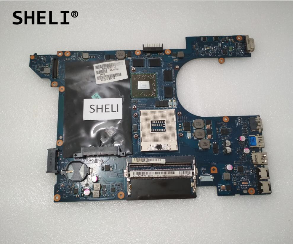 SHELI For Dell 15R 7520 Motherboard with HD7730M LA-8241P 4P57C DNMM8 (not 5520) nokotion brand new qcl00 la 8241p cn 06d5dg 06d5dg 6d5dg for dell inspiron 15r 5520 laptop motherboard hd7670m 1gb graphics