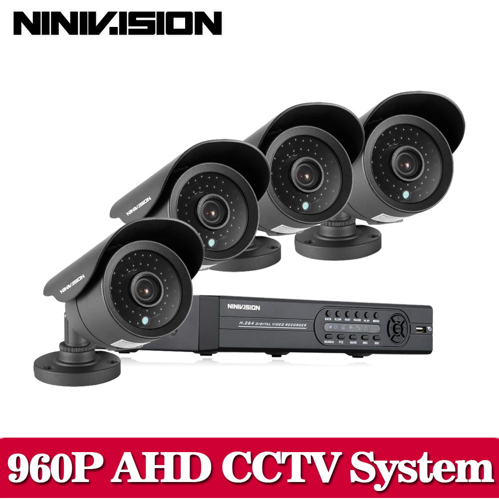 8CH CCTV System AHD DVR HDMI 1080P 2500TVL IR Outdoor Weatherproof CCTV Camera set Home  ...