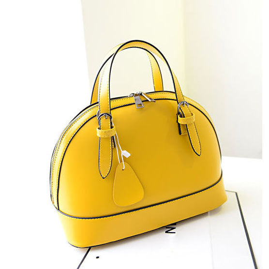 nice shoes enjoy clearance price various styles Hot in 2014 Summer Fresh Yellow Designer Handbags High ...
