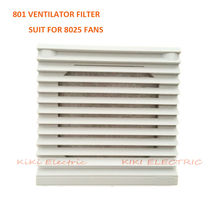White Plastic FB-802 window-shades Ventilation Filter , Axial Fan Filter suit for 92*92*25mm Fan , Electric Cabinet  Filter net