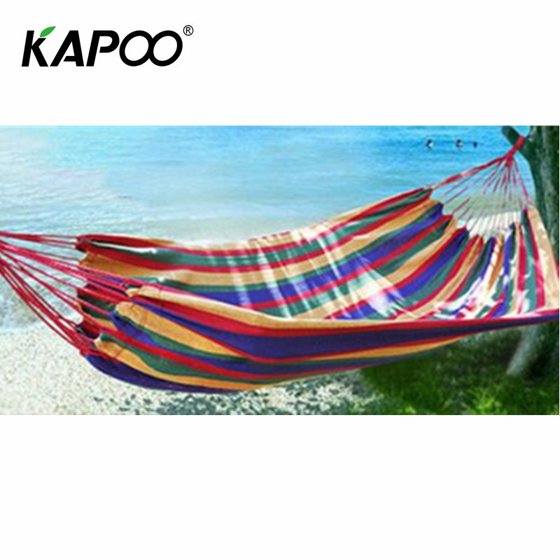 Portable single outdoor leisure hammock picnic camping outdoor hunting necessary comfortable soft outdoor furniture leisure leisure