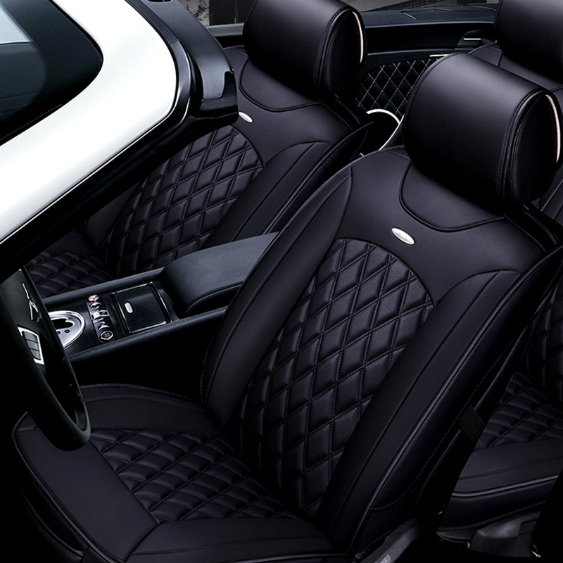 front + Rear Useful Universal Car Seat Covers For Volkswagen Vw Volante Up Fox Beetle Bora Gol Polo Sedan Car Seat Protector Auto