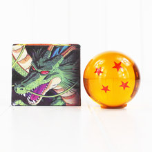 4.3cm New Dragon Ball Z 1-7 Stars DragonBall Crystal Ball Z Balls For Children Christmas Gift or Collection Fifure Toy(China)