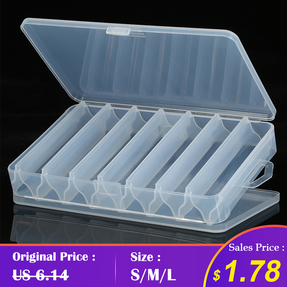 New 14 Compartments Fishing Tackle Box Bait Lure Hooks Storage Case Fishing Tool Tackle Sorting Box for Pesca(China)