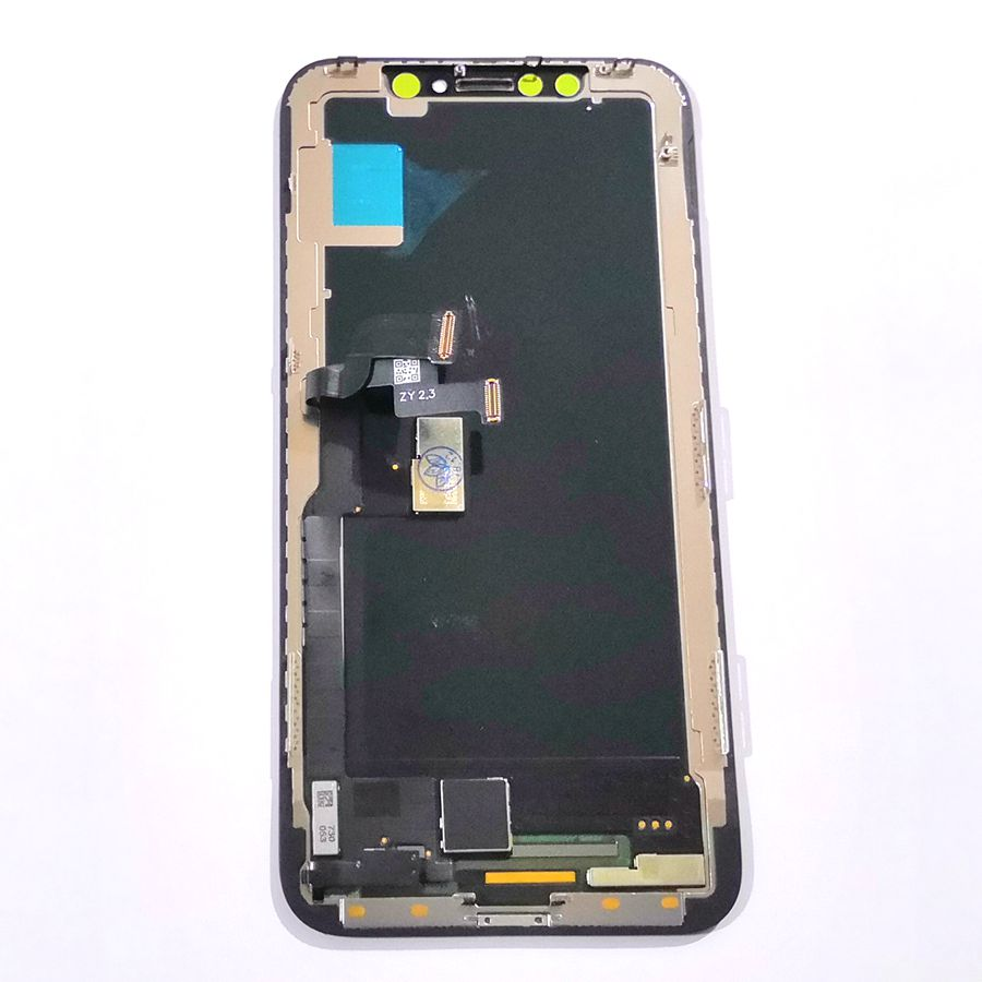 Oled and TFT For <font><b>Iphone</b></font> X A1901 <font><b>A1865</b></font> Lcd Screen Display with Touch Screen Digitizer Glass Together Repair Broken cellphone lcds image