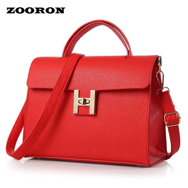 a2a6fa55d2ce ZOORON 2017 summer new Han edition tide women bag one shoulder small square  joker sac a main women PU leather messenger bags