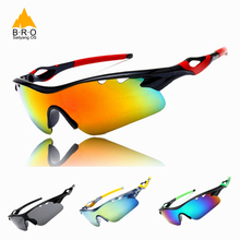 Hot Sale Cycling Glasses Men UV400 Sports MTB Bike Bicycle Sunglasses
