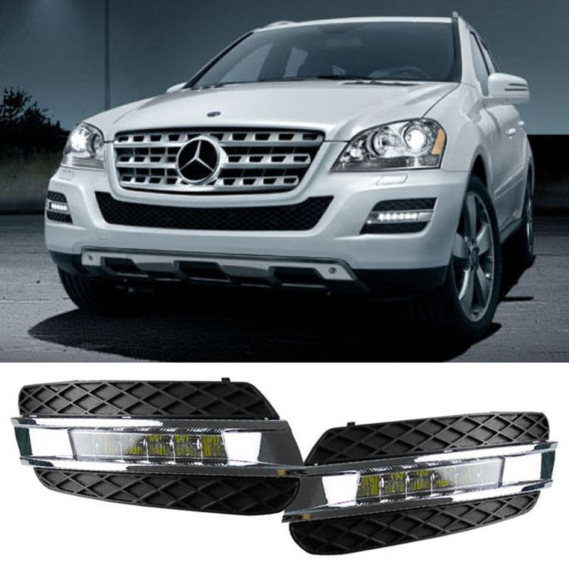Led drl for mercedes benz ml class w164 ml280 ml300 ml320 for 2007 mercedes benz ml500