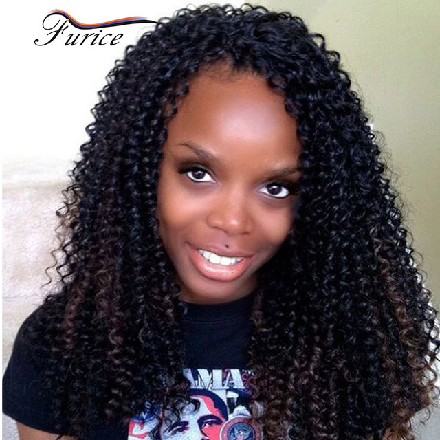 Latest New Water Wave Curly Kinky Afro Curly Crochet Braids Hair