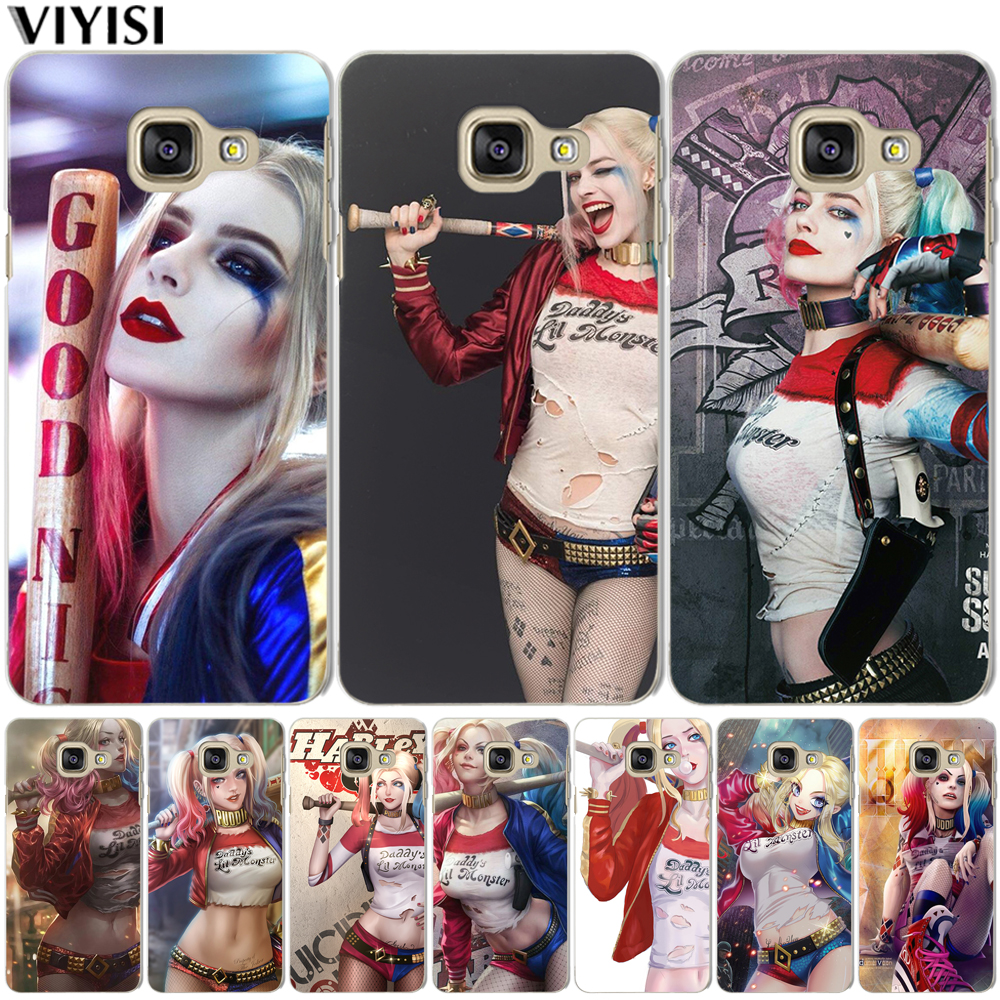 Cool Harley Quinn <font><b>Case</b></font> For <font><b>Samsung</b></font> S6 <font><b>S7</b></font> Edge S9 S8 Plus A3 A5 A7 J3 J5 J7 2016 2017 A8 2018 G530 Suicide Squad Cover <font><b>cases</b></font> Etui image