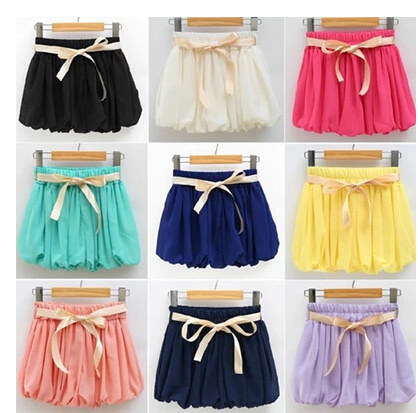 2014 New summer chiffon pleated skirt culottes shorts bloomers significant lanky waist pants female tide