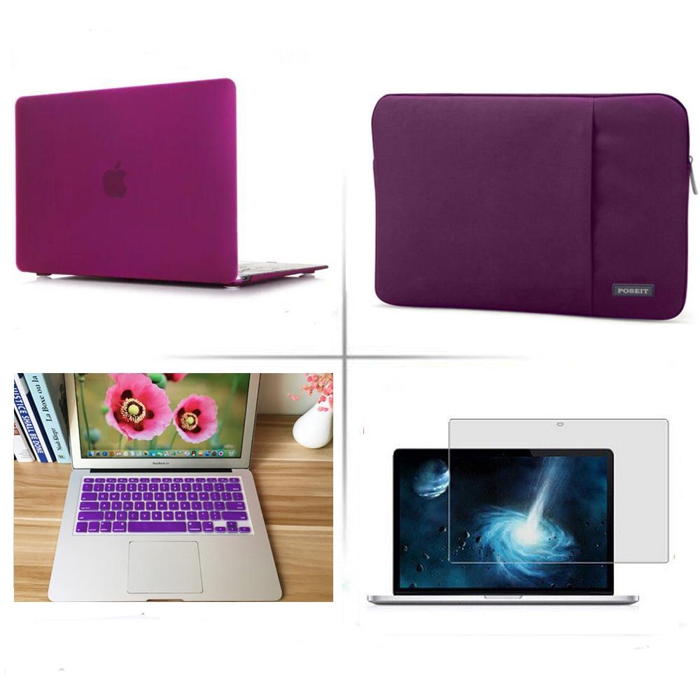 4 in 1 13/'/'15/'/'Laptop Handbag Notebook Case Utralbook Bag For 2018 Macbook A1989