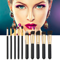 Alta Qualidade 10 Peças Conjunto de Pincel de Maquiagem Ferramentas Brushes Comestic Profissional