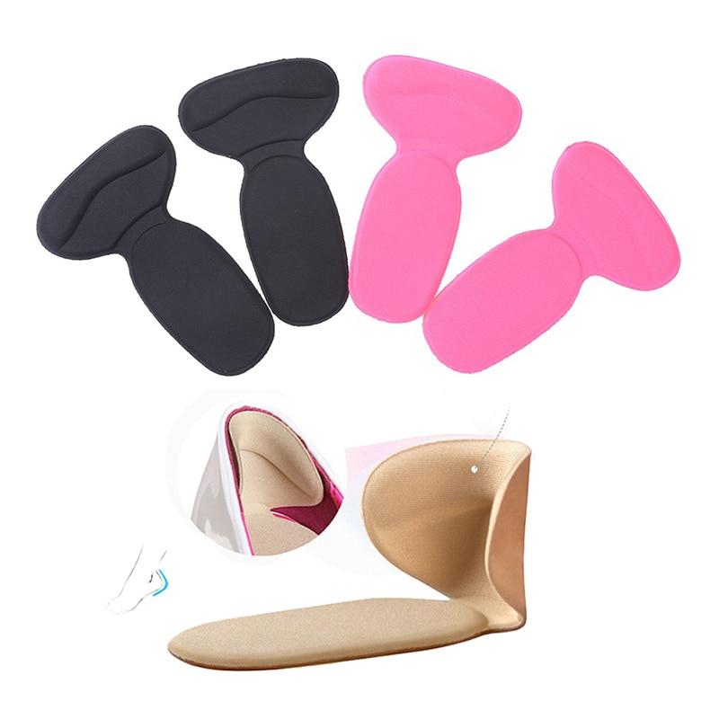 1Pair Soft T-Shape Insoles High Heel Shoes Pad Super Soft Insole Non Slip Sponge Cushion Foot Heel Protector For Women funny beach shoes super soft non slip bath door mat machine washable