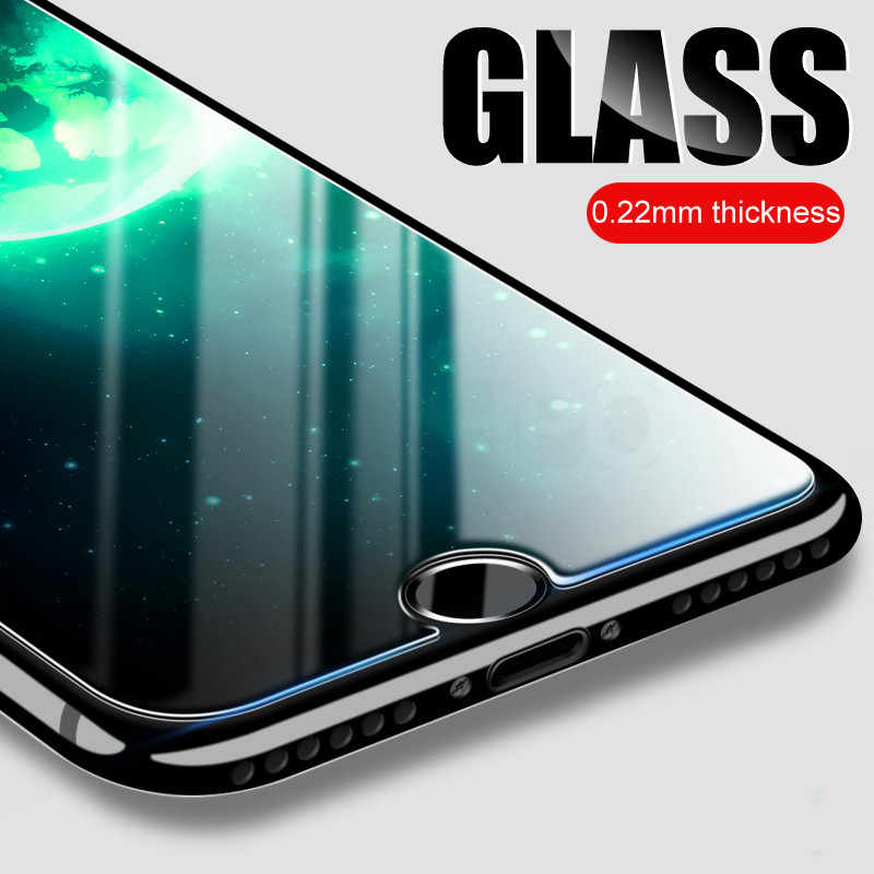 9H 0.22mm Tempered Glass For iPhone 8 7 6 6S 5 S5 SE Screen Protector Tough Glass On The For iPhone 6 S 7 8 Plus Protective Film