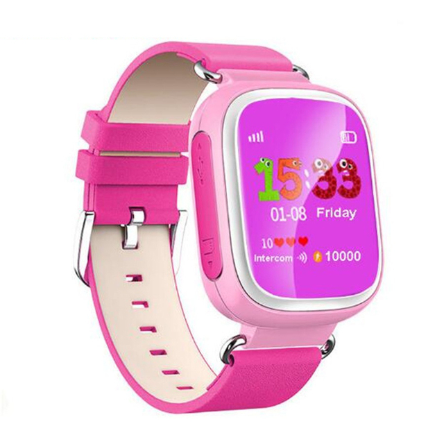 Q80 originais smart watch relógio bebê chamada sos dispositivo de localização lsb rastreador Kid Seguro GPS Anti Perdido Para IOS Android Relógio de Pulso