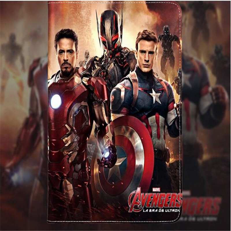 Hero series Hulk leather cover for ipad pro 10.5inch smooth surface iron Man avengers tablet case brand quality швейная машинка astralux 7350 pro series вышивальный блок ems700