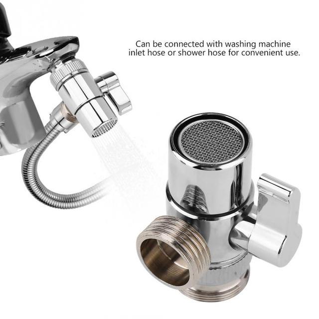 faucet diverter bathroom kitchen basin sink faucet splitter diverter rh aliexpress com