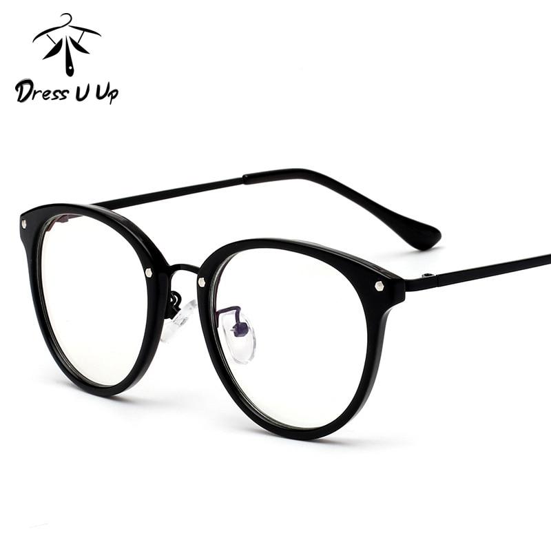 ▻DREDDUUP TR90 Fashion Newest Clear Glasses Frame For Women Men ...