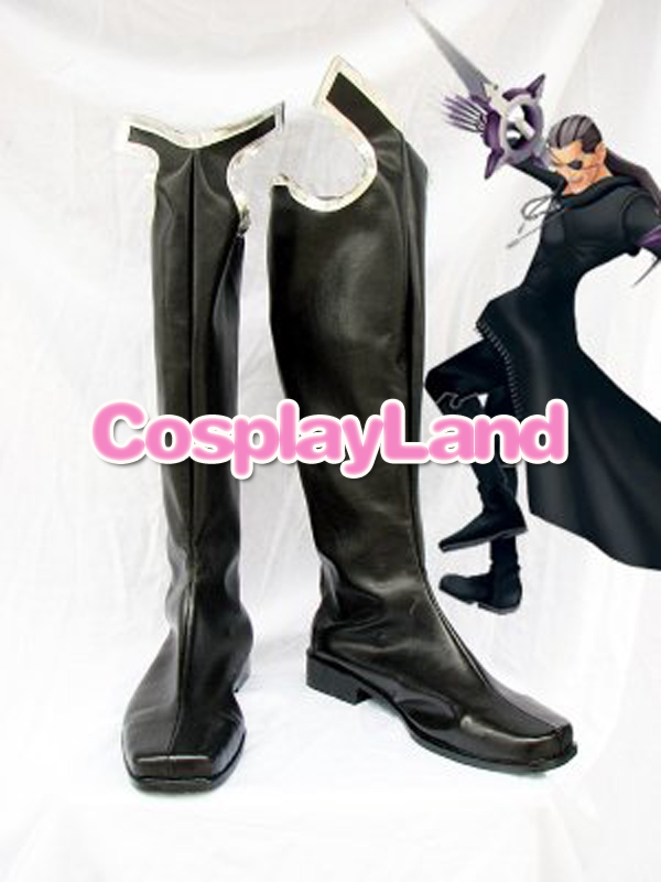 Customize Boots Kingdom Hearts Cosplay Xigbar Cosplay Shoes Custom Any Size Anime Party Boots