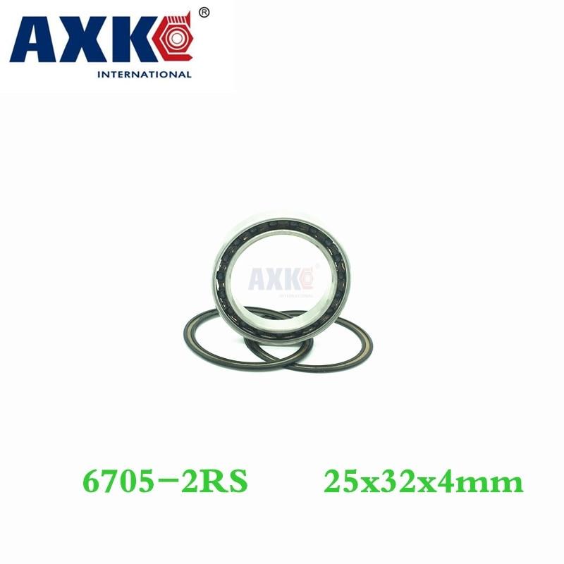 Axk 6705 Hybrid Ceramic Bearing 25*32*4 Mm Abec-1 ( 1 Pc) Industry Motor Spindle 6705hc Hybrids Si3n4 Ball Bearings 3nc 6705rs 6305 hybrid ceramic bearing 25 62 17 mm abec 1 1 pc industry motor spindle 6305hc hybrids si3n4 ball bearings 3nc 6305rs