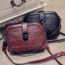 CW&F 2017 Women small new brand Crossbody bag female brief fashion vintage shell shoulder messenger handbag female purse pouch