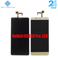 For Oukitel K6000 Pro LCD Display And TP Touch Screen Digitizer Assembly Lcds Tools 5 5