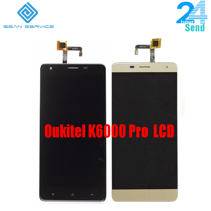 Für Oukitel K6000 Pro 100% Original LCD Display und TP Touch Screen Digitizer Assembly + Tools 5,5