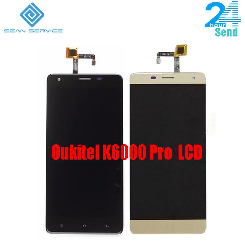 Pour Oukitel K6000 Pro 100% LCD D'origine Affichage et TP Écran Tactile Digitizer Assemblée + Outils 5.5 1920x1080 p Oukitel K6000 Pro