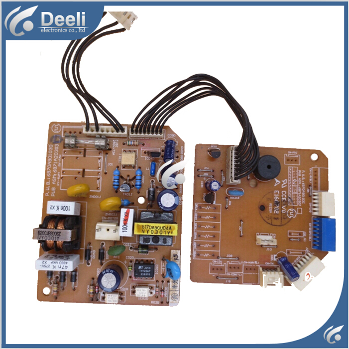 95% new good working for air conditioning 6870A90103D 6871A20303B control board 2pcs/set good working цены онлайн