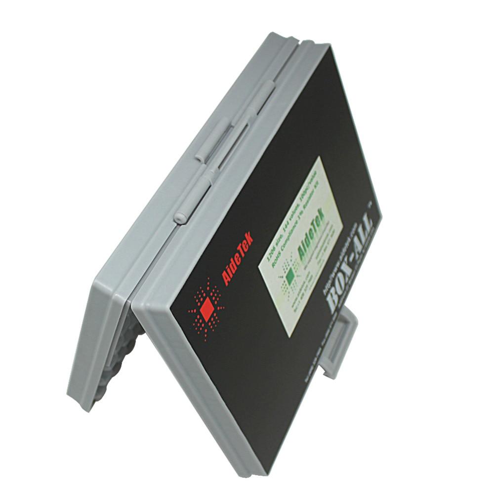 AideTek SMD SMT1206 kit resistenza 1% E96 assortiti 14400 pz - Portautensili - Fotografia 5