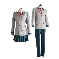 Anime Boku no Hero Academia Cosplay Costume All Hero School Uniform My Hero Academia Full Set